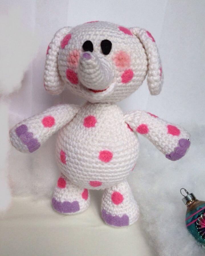 Create Misfit Spotted Elephant - Free Crochet Pattern, popular, free