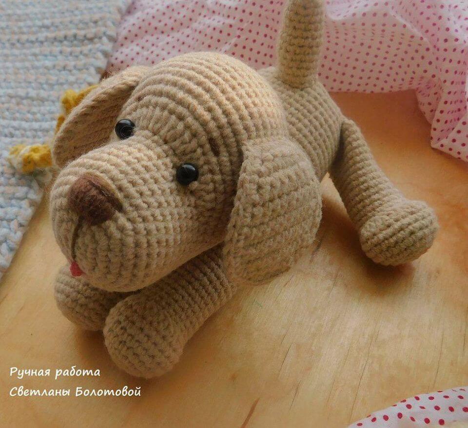Crochet Toshka Dog Amigurumi - Free Pattern, toshka dog amigurumi pattern, free toshka dog crotchet pattern, amazing dog pattern, free dog toy, cute dog amigurumi pattern