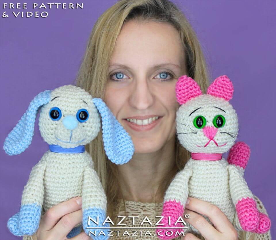 Make Dog Amigurumi - Free Crochet Pattern, dog crotchet pattern, free dog crotchet pattern, cute dog toy, free dog pattern