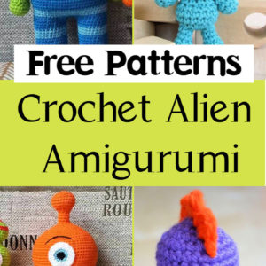 10 Free Crochet Alien Amigurumi Patterns