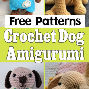 10 Free Crochet Dog Amigurumi Patterns