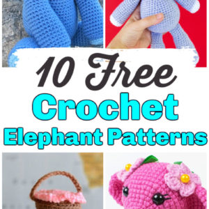 10 Free Crochet Elephant Patterns Crochet Amigurumi Pattern