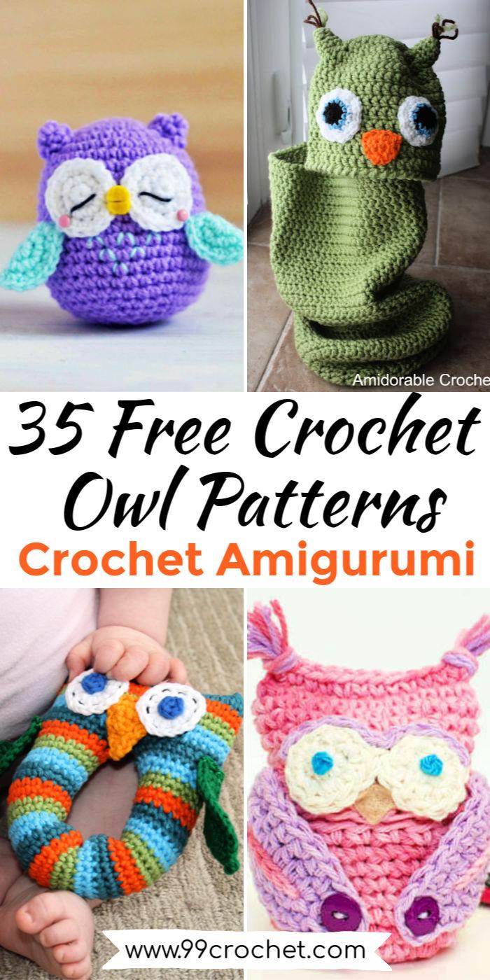 35 Free Crochet Owl Patterns – Crochet Amigurumi