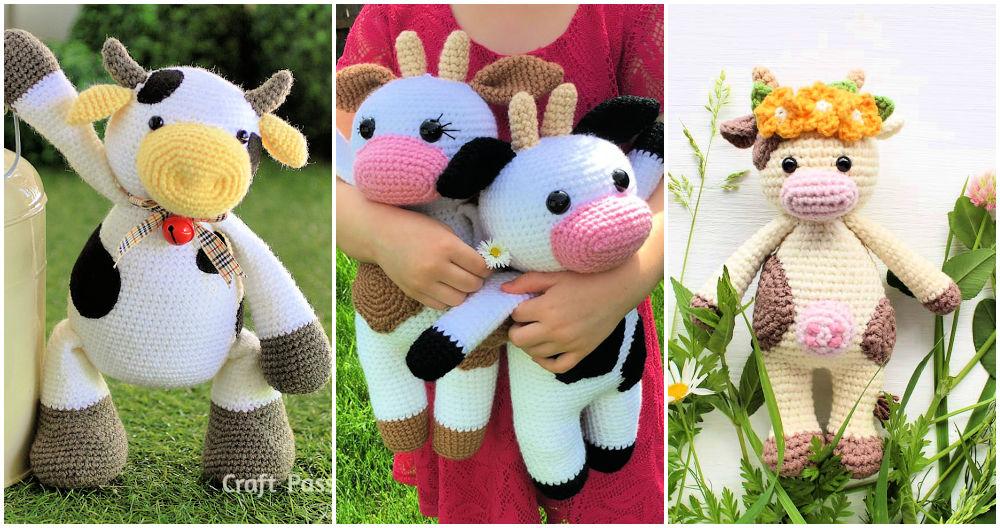 Crochet Cow Amigurumi Patterns Free